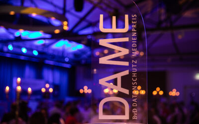 "Application period for Data Protection Media Award ""DAME"" 2020 starts"